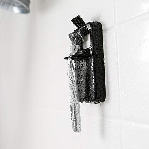 3-in-1 Razor Holder Sharpener Cleaner - BladeTap The Tap Unclogger - De-Gunk Dirty Shaving Razors - Sharpen Dull Cartridge Blades - Prevent Oxidizing - Environment Friendly for Men and Women [Black]