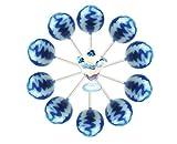10ct. Blueberries & Cream Cream Swirl Lollipop Bag (Blueberries & Cream)