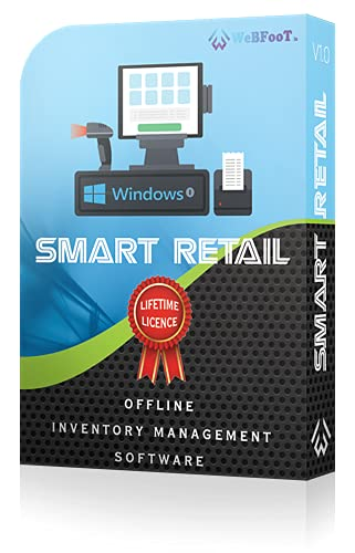 WeBFooT SMART RETAIL ~ Offline Inventory Management Software (Delivery through Amazon Message Center: NO CD)