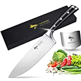 Chef Knife - MAD SHARK Pro Kitchen Knife 8 Inch Chef's Knife, Best Quality German High Carbon Stainless Steel Knife with Ergonomic Handle, Ultra Sharp, Best Choice for Home Kitchen and Restaurant