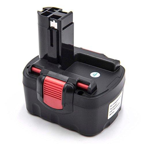 vhbw Akku kompatibel mit Bosch PKS 14.4V, PSB 14, PSB 14.4V, PSR 14.4, PSR 14.4-2, PSR 14.4/N Elektrowerkzeug (1500mAh NiMH 14,4V)