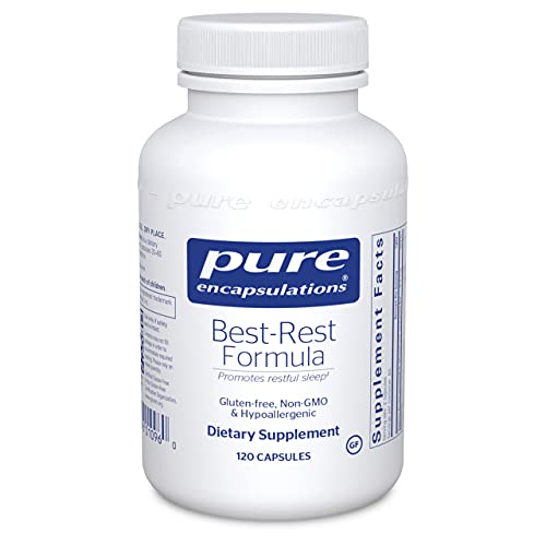 Pure Encapsulations Best-Rest Formula | Supplement to Support The Onset of Sleep and Sleep Quality* | 120 Capsules
