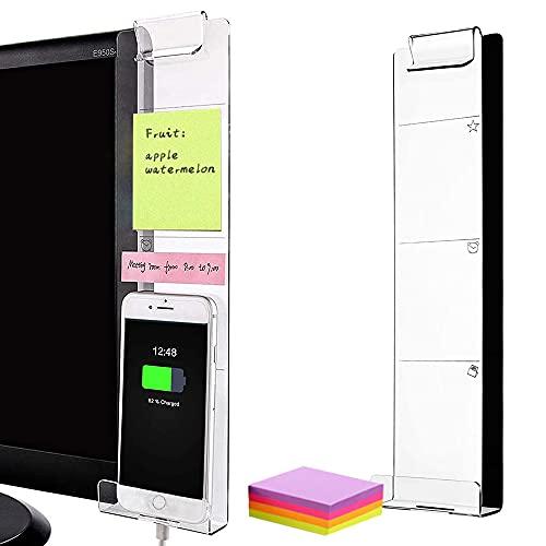 Tablero de Notas de Monitor,Recordatorio de Notas Adhesiva de Notas,Tablero de mensajes de notas,Monitor de tablero de notas,Tablero de notas de oficina (B)