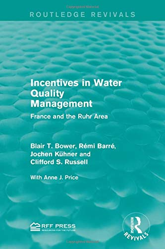 Incentives in Water Quality Management (Routledge Revivals)