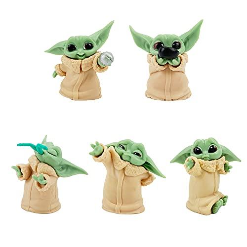 Starwars Cupcake Figuren, Baby Yoda...