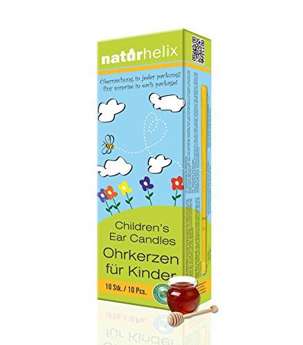 Naturhelix Kinder-Ohrkerzen mit Propolis-Tinktur - 10er-Packung