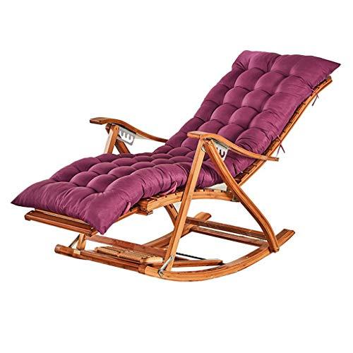 BLSTY EPE schuim anti-slip zitkussen, verdikking rugpijn kruis stoelkussen voor lounge stoel schommel tuinstoel pad 128x48Cm(50x19Zoll) lila