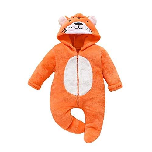 HAYI 0-12 meses Otoño Bebé Bebé Saco Zip-Up for recién nacido Bebé Tigre Tigre Swaddle Wrap Wrap Lindo Bolsos for dormir Bebé Ropa de cama (Color : L)