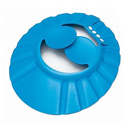 Tapa de champú de champú ajustable de la gorra de ducha usada para el casquillo de la ducha del escudo del escudo de la protección de los niños de la seguridad del oído del nebé recién nacido adecuado