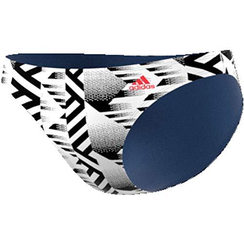 adidas Damen Sh3.Ro Hip Bot Bikinihosen, White/Black/Tecind, M