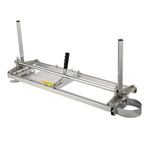 TERRADISE Molino de Motosierra Portátil de Tamaño 14 a 36 Pulgadas Aserradero Potátil para Madera Chainsaw Mill Planking de Acero de Aluminio para Conductores y Carpinteros (14-36 pulgadas)