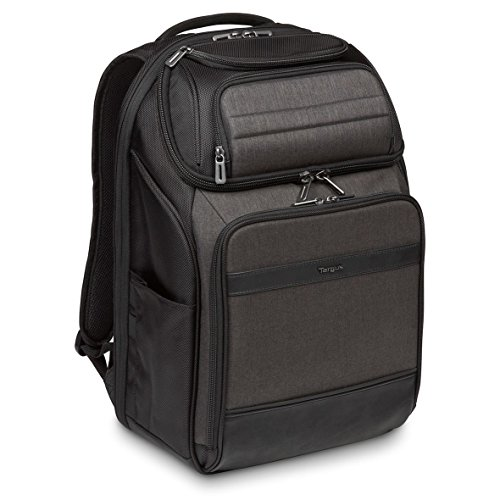 "Targus TSB913EU CitySmart 12,5 13 13,3 14 15 15,6"" Professional Laptop Backpack – Negro/Gris"