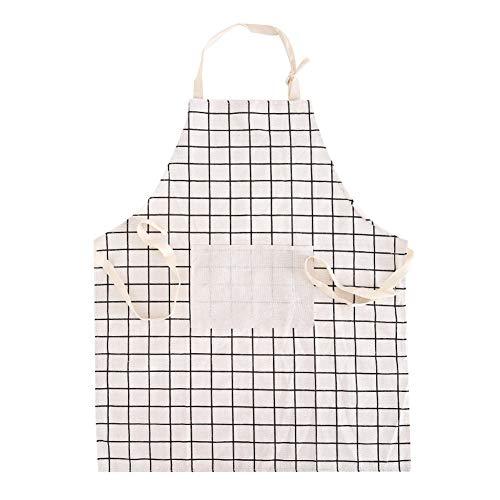XCWQ keukenschort, 1 stuks, schort, zout, restaurant, schort met grote tas