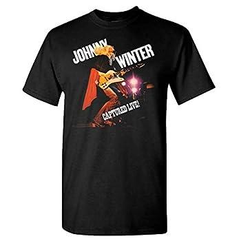 Get in Good Johnny Winter Captured Live T-Shirt