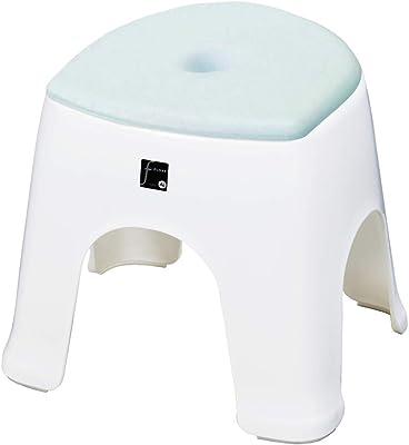 新輝合成 バスチェア クッション付き 風呂椅子 ブルー 高さ30cm フロート N30 入 1個セット