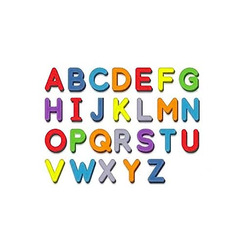 26 PCS ABC Magnetic Letters Set Movable Foam Bubble Lowercase or Uppercase or Numbers