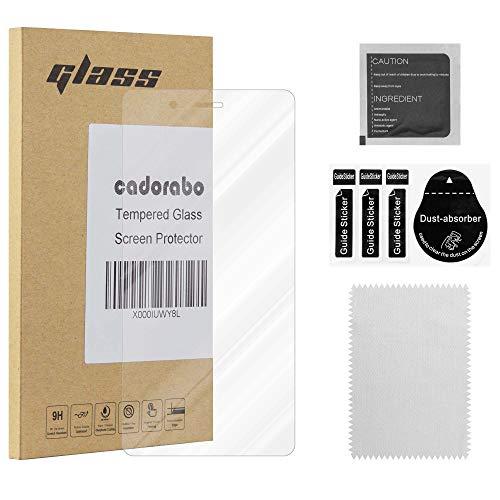 Cadorabo Película Protectora para BQ Aquaris X5 en Transparencia ELEVADA - Vidrio...