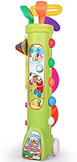 Kid's Toy Golf Clubs Set Deluxe Outdoor Golf Toy Set Toddler, Children, Preschool Kids Early Educational Toy
