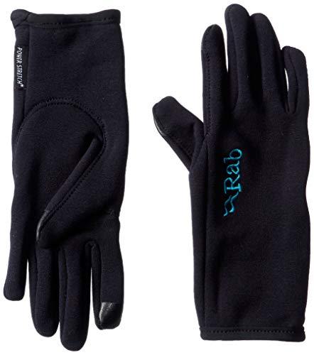 RAB Power Stretch Contact Handschuhe Damen Black Handschuhgröße L | 8-8,5 2021 Outdoor Handschuhe