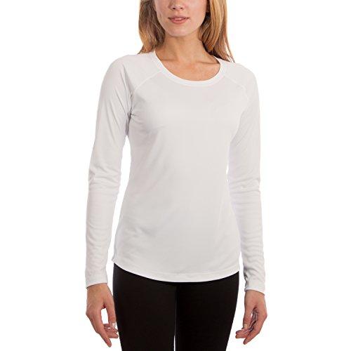 Vapor Apparel - Camiseta de Manga Larga con protección Solar contra Rayos UV - para Mujer - Factor 50+