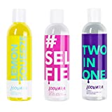 Loovara pack de 3 - gel lubricante y aceite de masaje sensual en un set de 3 | sólo ingredientes...