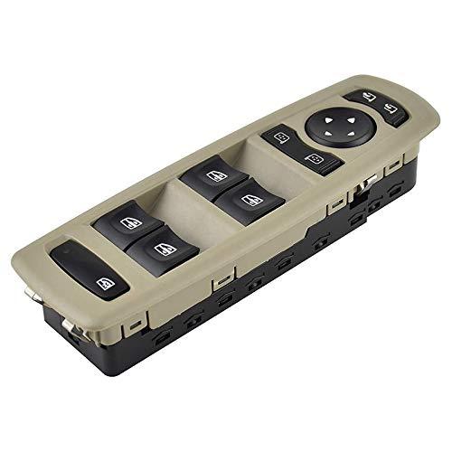 LUOERPI Botones del Interruptor de elevación de la ventanilla del Coche,para Renault Fluence Megane Laguna 3 2008-2016, Interruptor de Espejo de Ventana eléctrica Principal