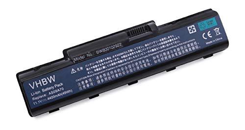 vhbw Akku für Acer Aspire 5732ZG, Packard Bell EasyNote TJ62, TJ63, TJ64 Notebook Laptop wie AS09A31, AS09A41, AS09A56 - (Li-Ion, 4400mAh, 11.1V)