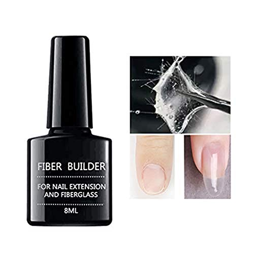 Voberry 20PCS Nail Care Fiberglass Silk Nails Wrap Stickers for Gel Extension Nail Art Tools & Professional Nail Art Kits, Nails Art Sticker Extension Set (5PCS)