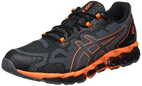 ASICS Herr Gel-quantum 360 6 Sneaker, Transportör grå ringblomma orange - 46.5 EU