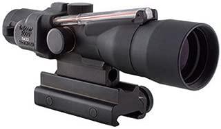 Trijicon TA33-C-400164 ACOG 3x30mm Compact Dual Illuminatedx 40mm, Red Crosshair .300 Blackout 115/220gr Ball Reticle, Colt Knob Thumbscrew Mount