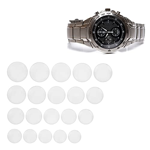 Accesorios de reloj, accesorios de laboratorio Lente de vidrio de reloj de 20 piezas duradera y confiable para suministros industriales