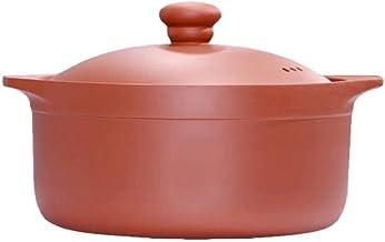 Praktisch Casserole gerechten Terracotta Potten Casserole Casserole Platen met deksel-Good Heat Conservering Performance, ...