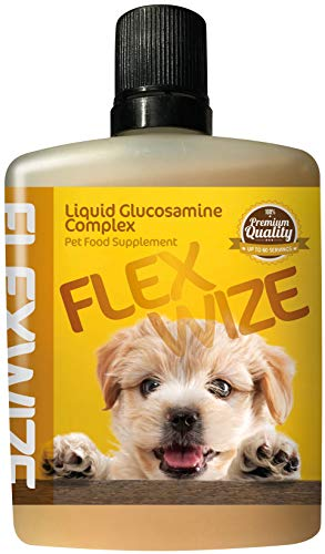 Flexwize Liquid Glucosamine Complex for Small to Medium SIzed Dogs (under 20Kg), 60ml (1 to 2 months supply)