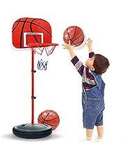 SKEIDO Indoor Adjustable Hanging Basketball Netball Hoop Basketball Box Mini Basketball Board For Game Children Kids Game