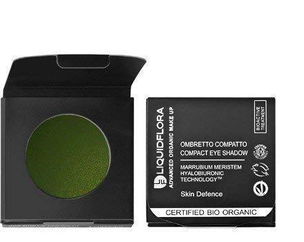 Liquidflora Recharge Fard Compact Bio 10 Green Attraction Vert Yeux