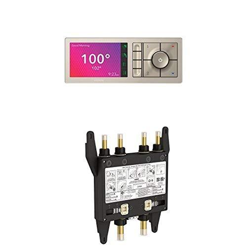 Moen TS3304TB U by Moen Digital Shower Controller and S3104 Valve 4-Outlet