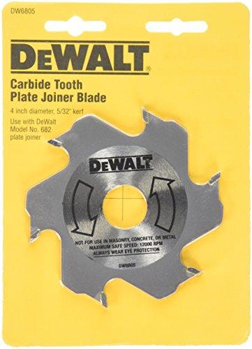 DEWALT Plate Joiner Blade, 4-Inch, Carbide, 6-Tooth (DW6805)