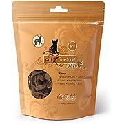 Catz finefood meatz cat treats – crispy meat strips, cereal free cat snack without sugar, various varieties (chicken, veal, duck, deer, rabbit, kangaroo