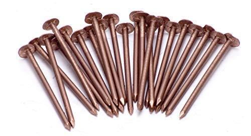 Cobre Tornillos Tocones Árboles / Cobre Sólido Clout Nails - Muy Grande Varias tallas - 50 x 65mm