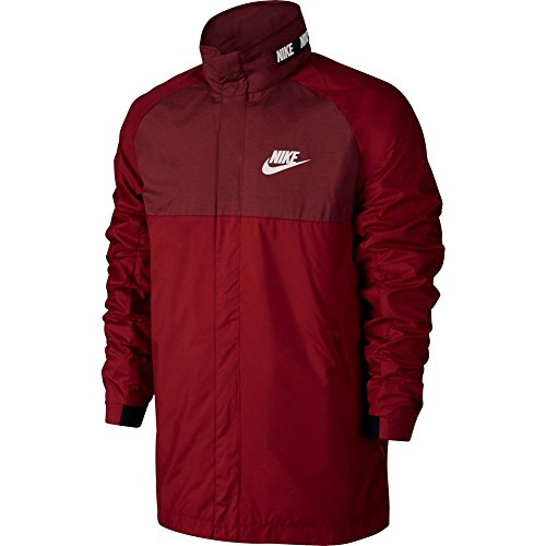 Nike windjack Sportswear Advance 15 granaat/zwart/wit maat: S (Small)