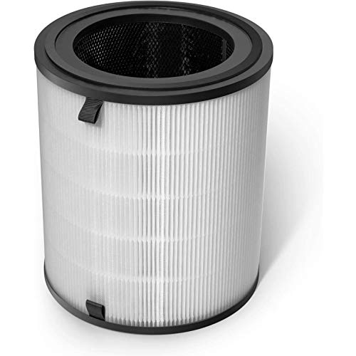 Levoit LV-H133-RF Ersatzfilter, hocheffizientes HEPA-Kombifilter & Aktivkohlefilter Set, kompatibel mit Levoit Luftreiniger LV-H133