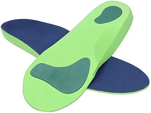 hwljxn Weiche Einlegesohle, Einlegesohle, Verschleiß □ Beständiger atmungsaktiver Stabiler leistungsfähig für Frauen Fußmassage Schweiß □ Absorbierende Männer