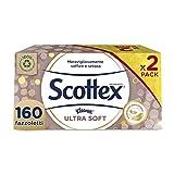 Scottex Ultra Soft Box Fazzoletti, 2 Box da 80 Fazzoletti