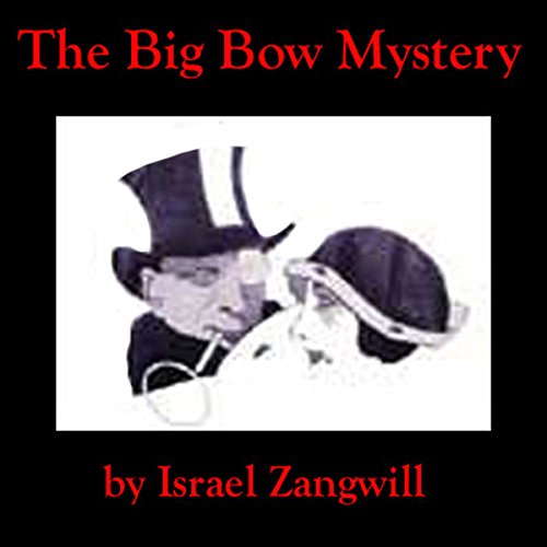 The Big Bow Mystery  audiobook cover art