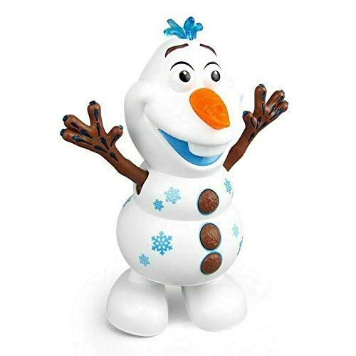 jwkklz Juguete de muñeco de Nieve de música de Baile eléctrico, Linterna de música LED, Figura de acción eléctrica, Modelo de Juguete para niños.