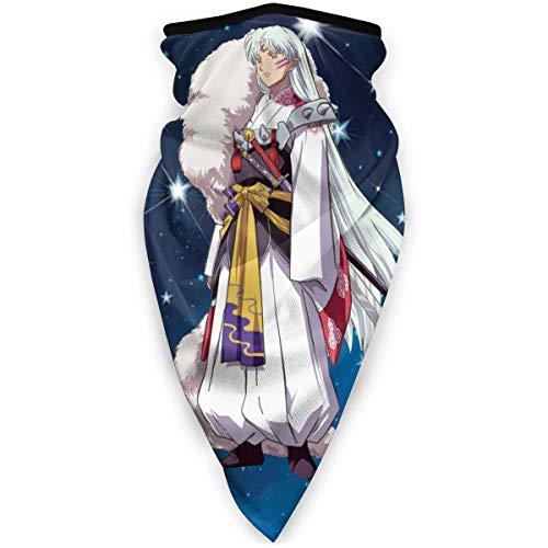 JUDE NICHOLLS Inuyasha Face Cover Shield Neck Warmer Bufanda...