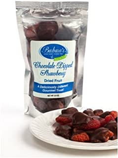Chocolate-Dipped Dried Fruit in Grab 'n Go Pouches (Orange Peel)