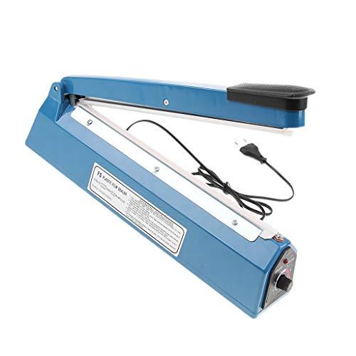 F Fityle Sellador de Calor Máquina de Sellado Artículos Laboral Equipo de Servicios Industriales - Azul1