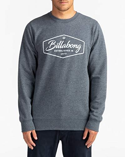 BILLABONG Trademark - Sudadera para Hombre Sudadera, Hombre, Navy, L