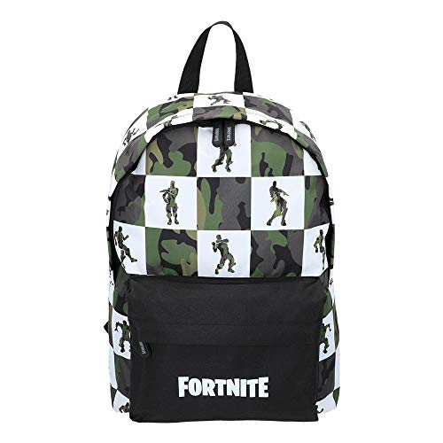 Fortnite - Mochila Black & White 32 x 42 cm (77087)